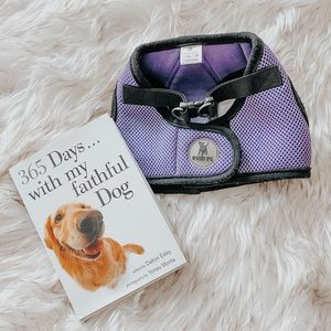 Dog Harness Collar Small Worthy Dog Purple BUNDLE